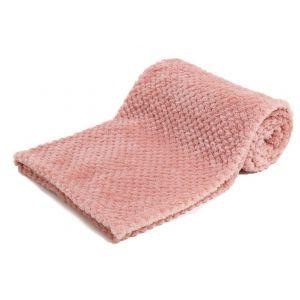 Any Name Rose Gold Waffle Wrap Baby Blanket