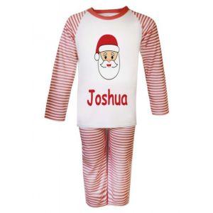 Christmas Santa Any Name Childrens Pyjamas