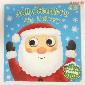 Jolly Santa's Big Delivery Christmas Children's Storybook