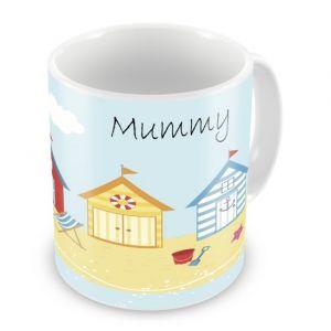 Seaside Beach Holiday Any Name Mug