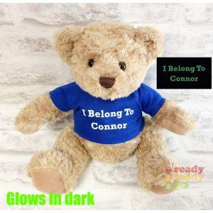 Medium Sherwood Teddy Bear - Glow in the Dark T-Shirt