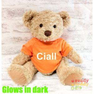 Large Sherwood Teddy Bear - Glow in the Dark T-Shirt