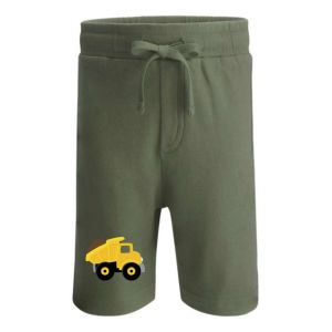 Dump Truck Any Name Childrens Cotton Shorts