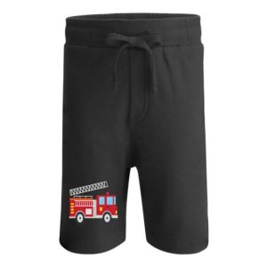 Fire Engine Any Name Childrens Cotton Shorts