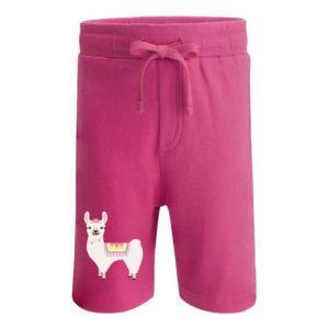 Llama Any Name Childrens Cotton Shorts