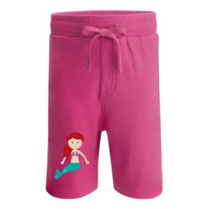 Mermaid Any Name Childrens Cotton Shorts