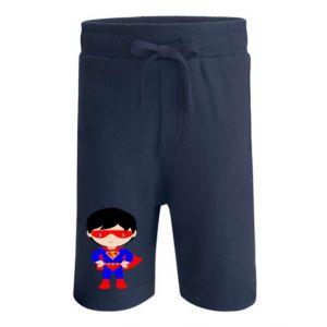 Superhero Boy Any Name Childrens Cotton Shorts