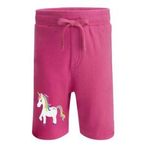 Unicorn Any Name Childrens Cotton Shorts