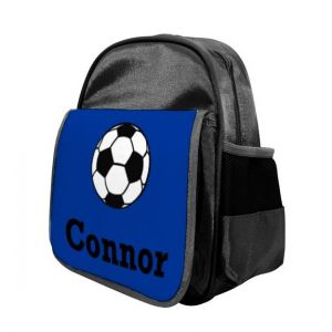 Football Any Name Childs Backpack