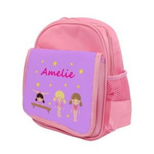 Gymnast Any Name Childs Backpack