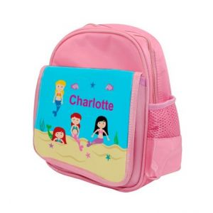 Mermaids Any Name Childs Backpack