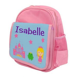 Princess Castle Any Name Childs Backpack