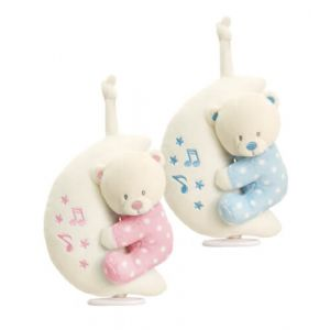 20cm Baby Boy / Girl Teddy Bear on Moon Musical Toy