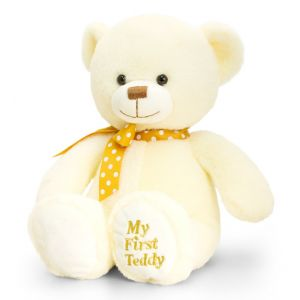 Baby My 1st Teddy Bear Cream