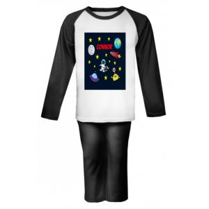Outer Space Any Name Childrens Pyjamas
