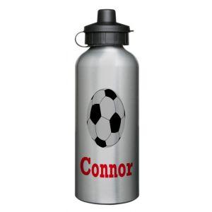 Football 600ml Sports Drinks Bottle
