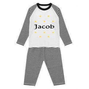 Stars Any Name Childrens Pyjamas