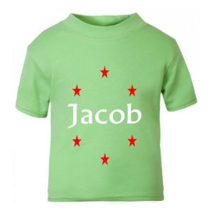 Stars Any Name Childrens Printed T-Shirt