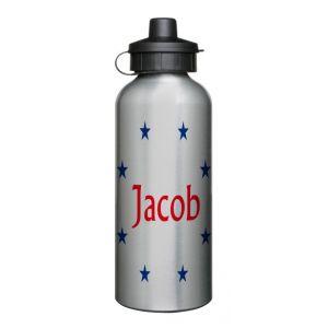 Any Name + Stars 600ml Sports Drinks Bottle