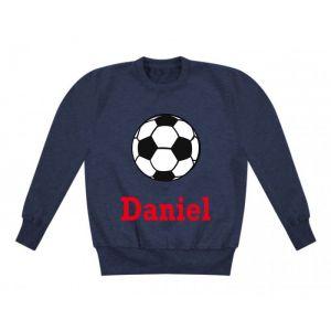 Football Any Name Childrens Sweatshirt / Jumper