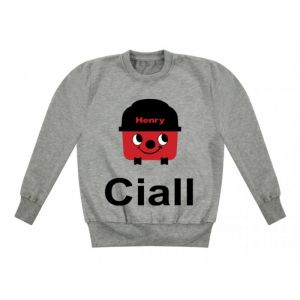 Henry Hoover Any Name Childrens Sweatshirt / Jumper
