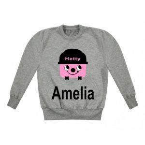 Hetty Hoover Any Name Childrens Sweatshirt / Jumper
