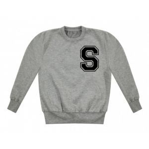 Any Initial (Left Chest) Childrens Sweatshirt / Jumper
