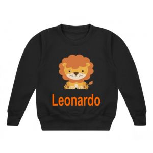Lion Any Name Childrens Sweatshirt / Jumper