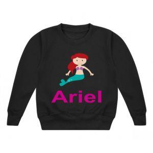 Mermaid Any Name Childrens Sweatshirt / Jumper