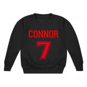 Number + Any Name Childrens Sweatshirt / Jumper
