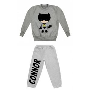 Bat Boy Superhero Any Name Childrens Tracksuit