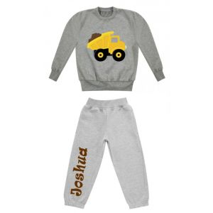Dump Truck Any Name Childrens Tracksuit