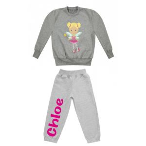 Fairy Any Name Childrens Tracksuit