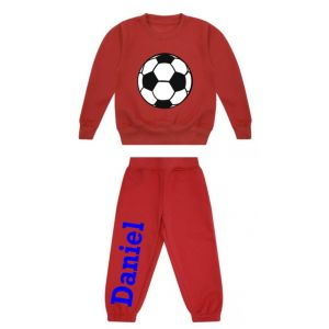 Football Any Name Childrens Tracksuit