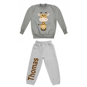 Giraffe Any Name Childrens Tracksuit