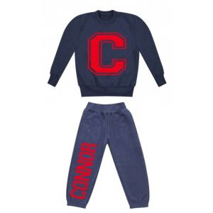Any Initial (Large) + Name Childrens Tracksuit