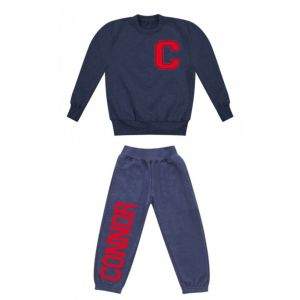 Any Initial (Left Chest) + Name Childrens Tracksuit