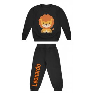 Lion Any Name Childrens Tracksuit