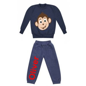Monkey Any Name Childrens Tracksuit
