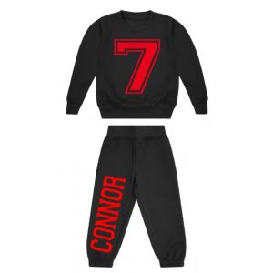 Number + Any Name Childrens Tracksuit