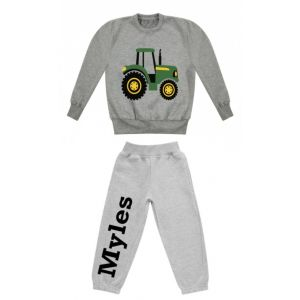 Tractor Any Name Childrens Tracksuit