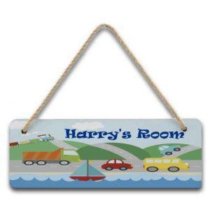 Transport Hanging Door Sign