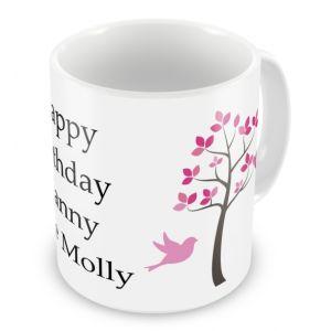 Trees Any Text Mug