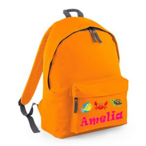 Under The Sea Any Name Childs Rucksack