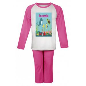 Under The Sea Any Name Childrens Pyjamas