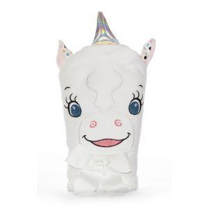 Aurora The Unicorn Childrens Hooded Towel