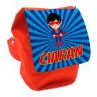 Super Hero Any Name Toddler Backpack